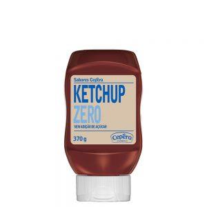 ketchup zero açúcar sabores cepera