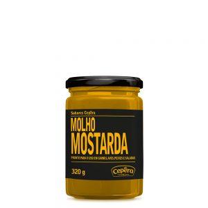 molho mostarda sabores cepera